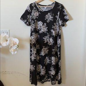 LuLaRoe | Jessie floral dress with pockets
